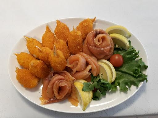 Холодный стол, рыбные закуски